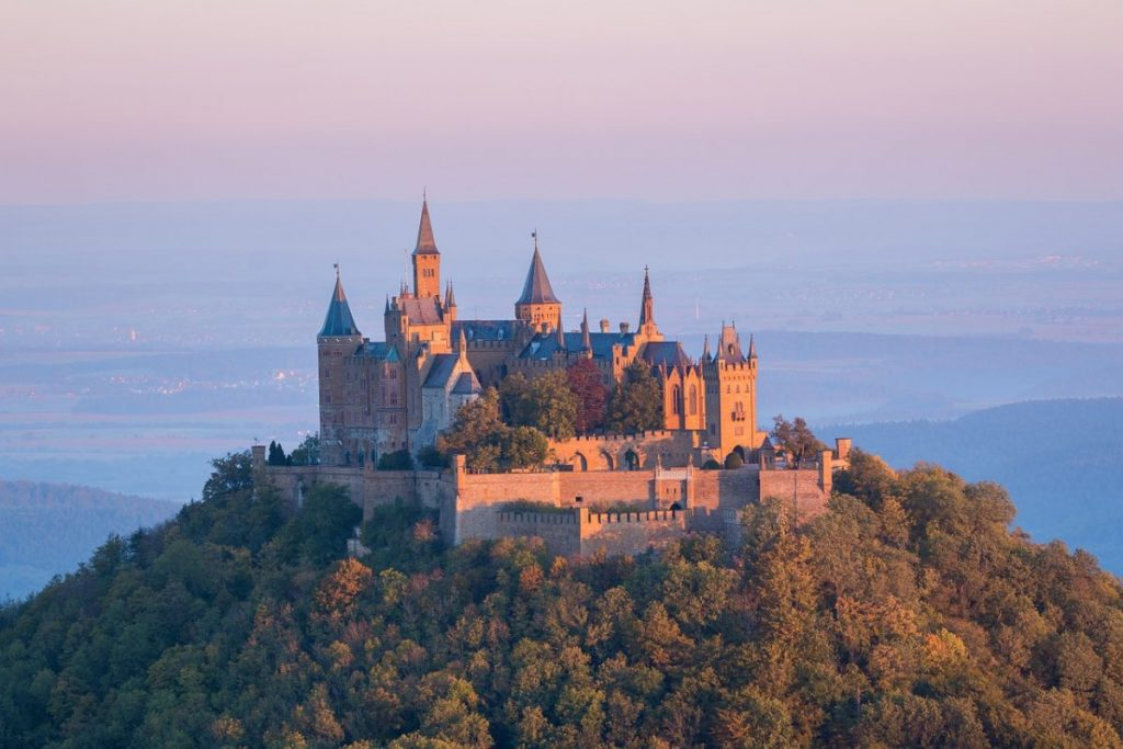 great castles to see backpacking Germany