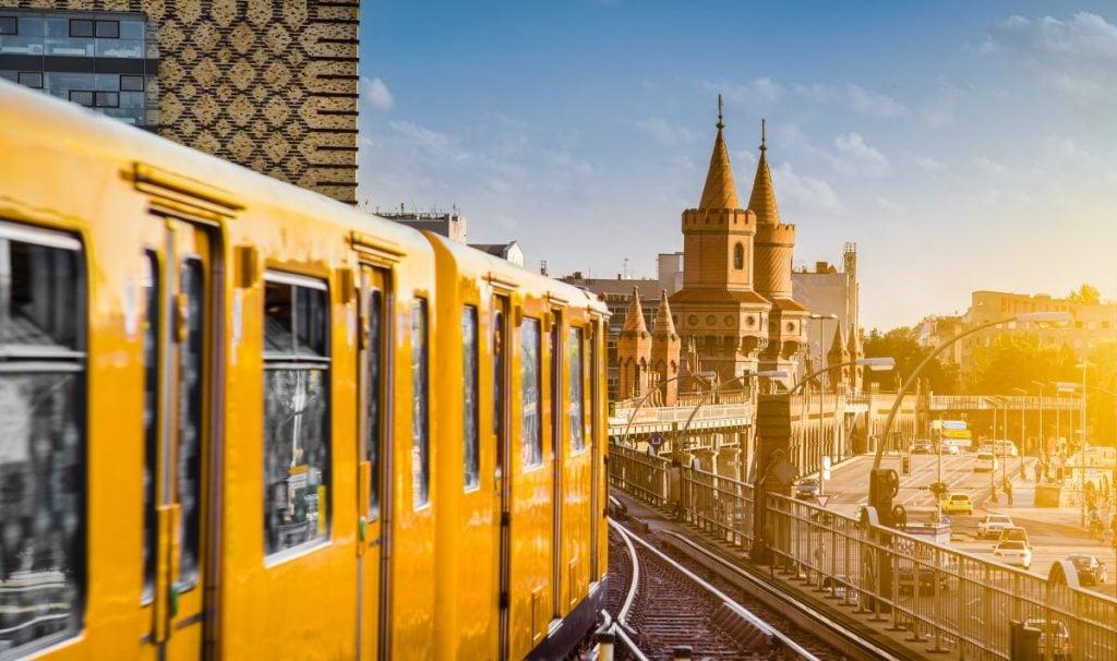 train travel in berlin europe