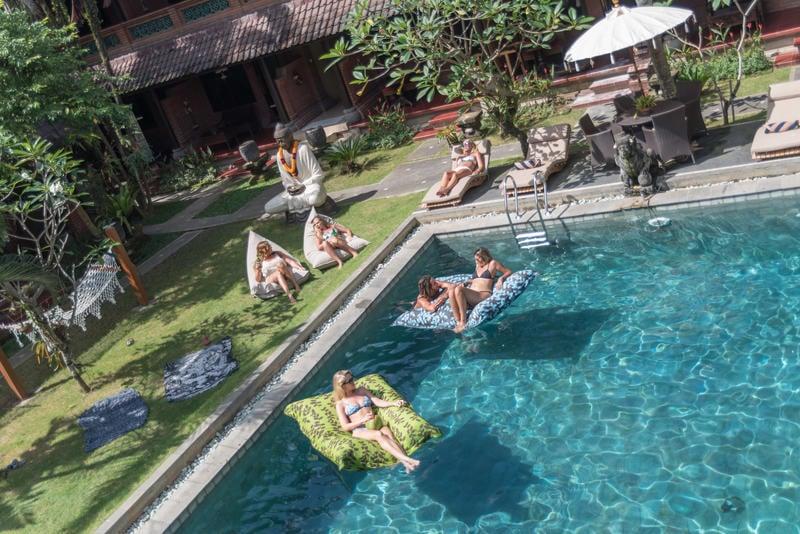 Puri Garden Hotel & Hostel best hostel in Bali