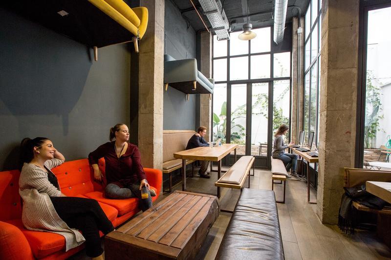 Black Swan Best Hostel for Digital Nomads in Seville
