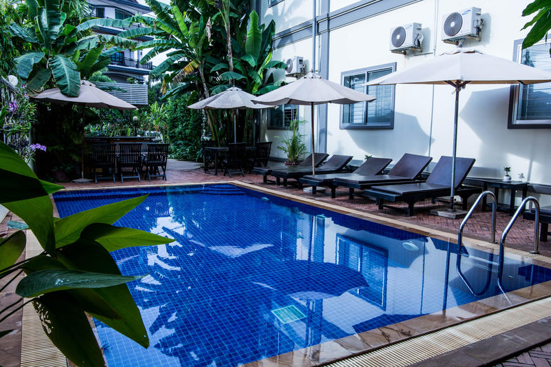 Bliss Villa best hostels in Siem Reap