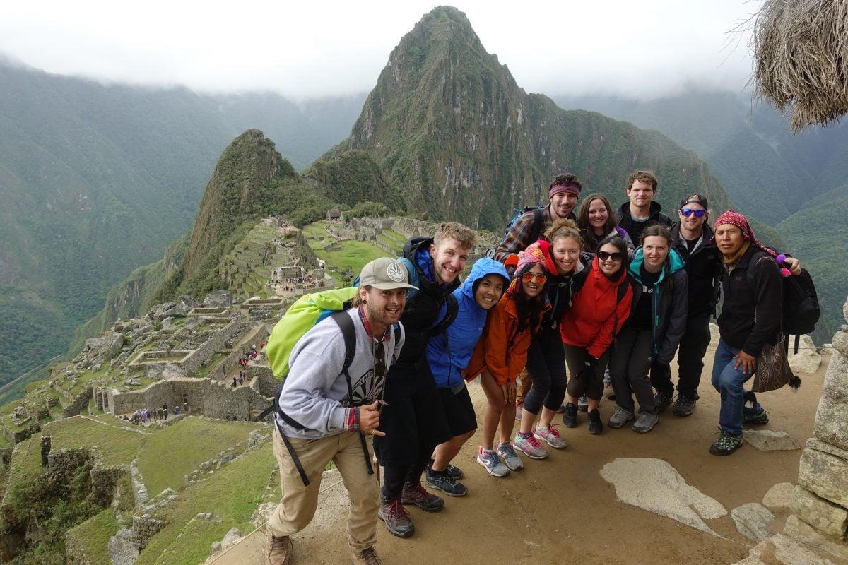 The beautiful Machu Pichhu backpacking experience