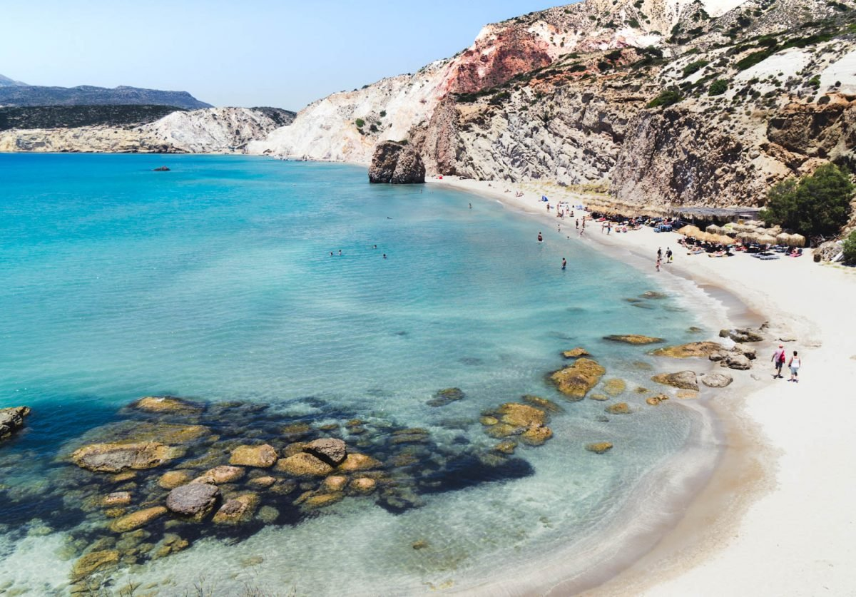 Firiplaka Beach, Milos - Best beaches in Greece