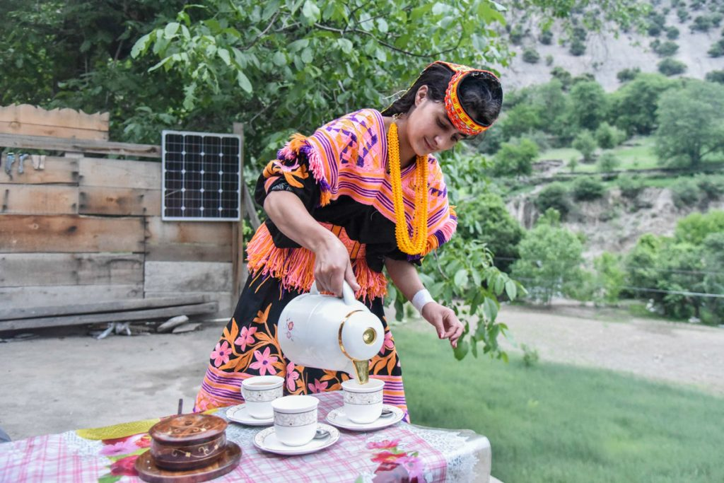 Beautiful kalash people