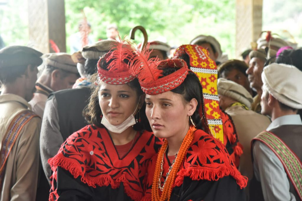 Kalash People in festival