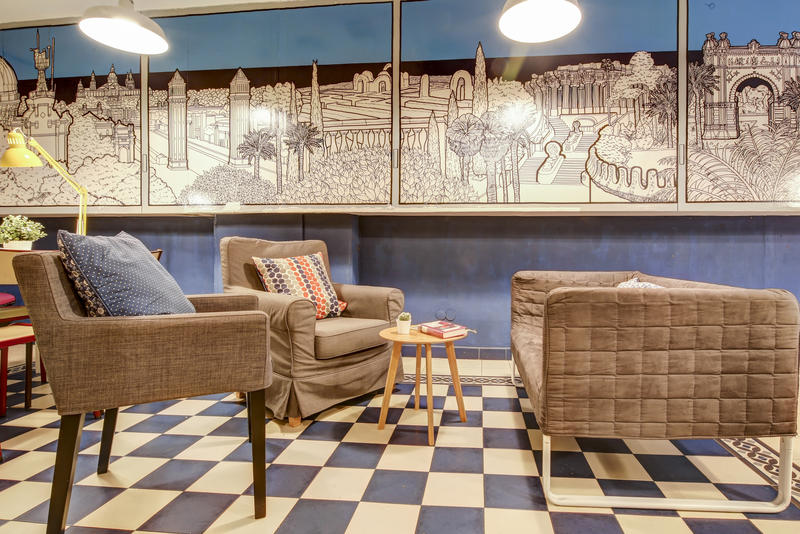 Factory House Best Hostels in Barcelona