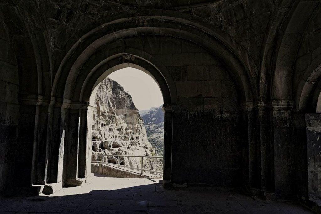 Monastery Complex Tomb Vardzia Georgia