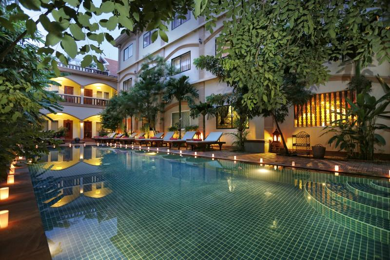 Golden Mango Inn best hostels in Siem Reap
