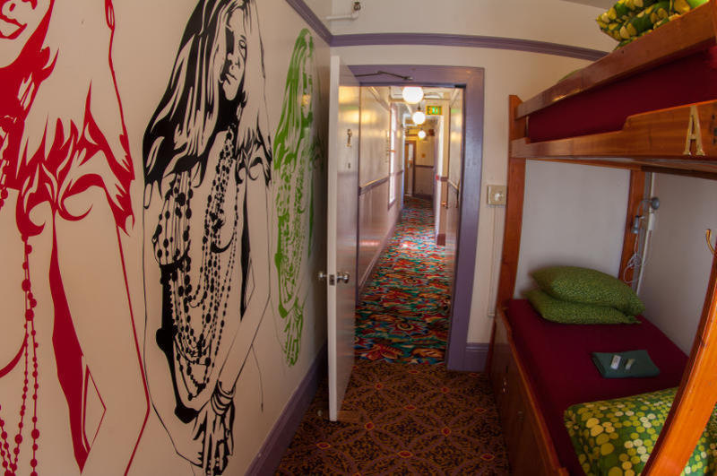 Green Tortoise Hostel best hostels in San Francisco