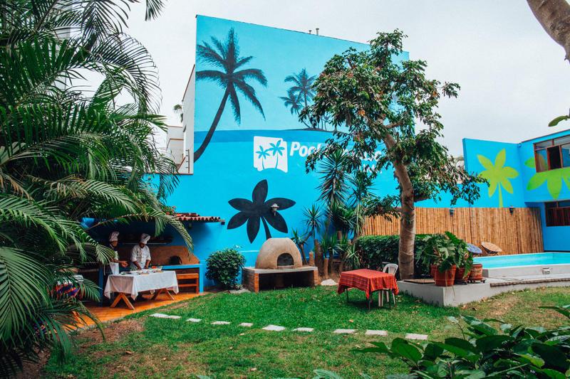 Pool Paradise best hostels in Lima
