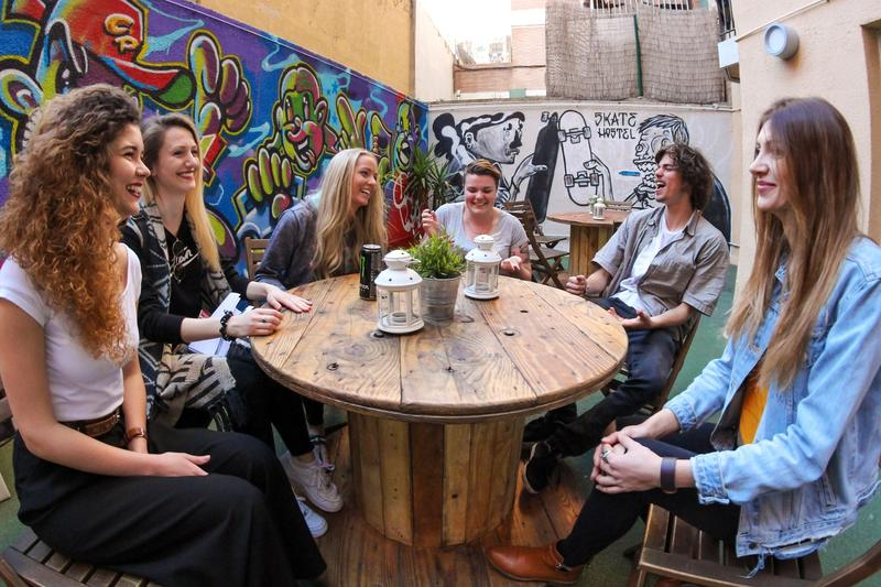 Best Party Hostel in Barcelona #3 - Sant Jordi Sagrada Familia