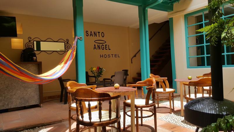 Santo Angel Hostel best hostels in Bogota