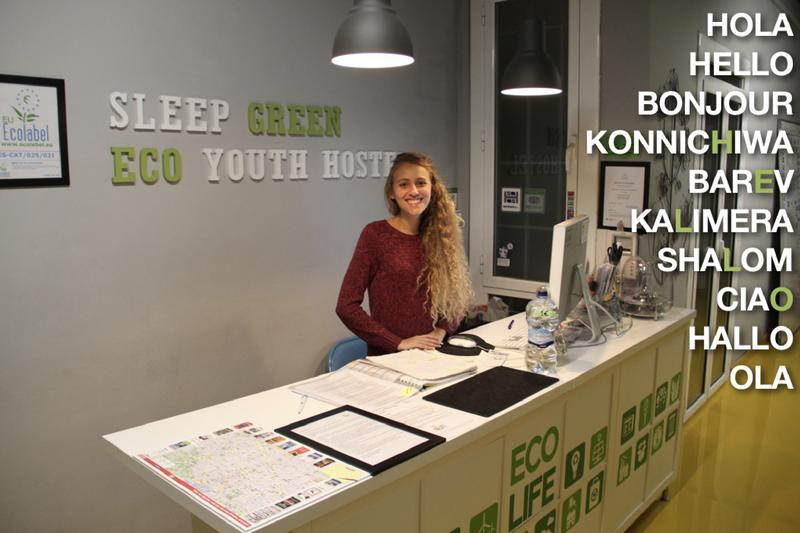 Sleep Green Certified Eco Youth Best Hostel for Digital Nomads in Barcelona