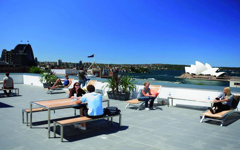Sydney Harbour YHA best hostels in Sydney