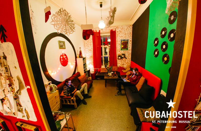 The Cuba Hostel Best Party Hostel in St Petersburg