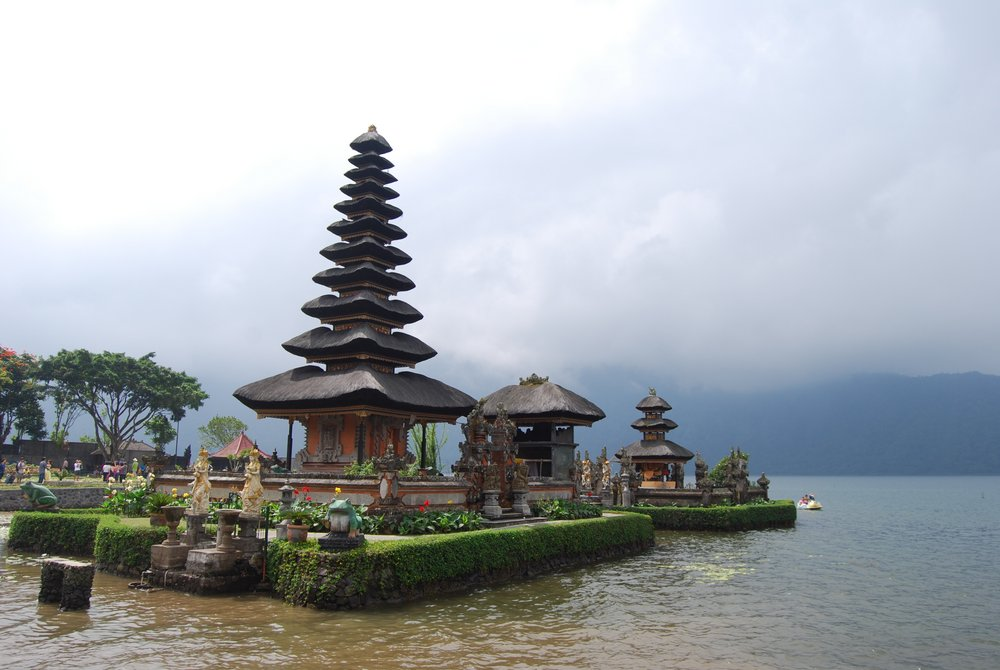 One of many beautiful temples in Bali.