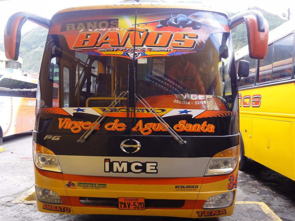 buses of ecuador