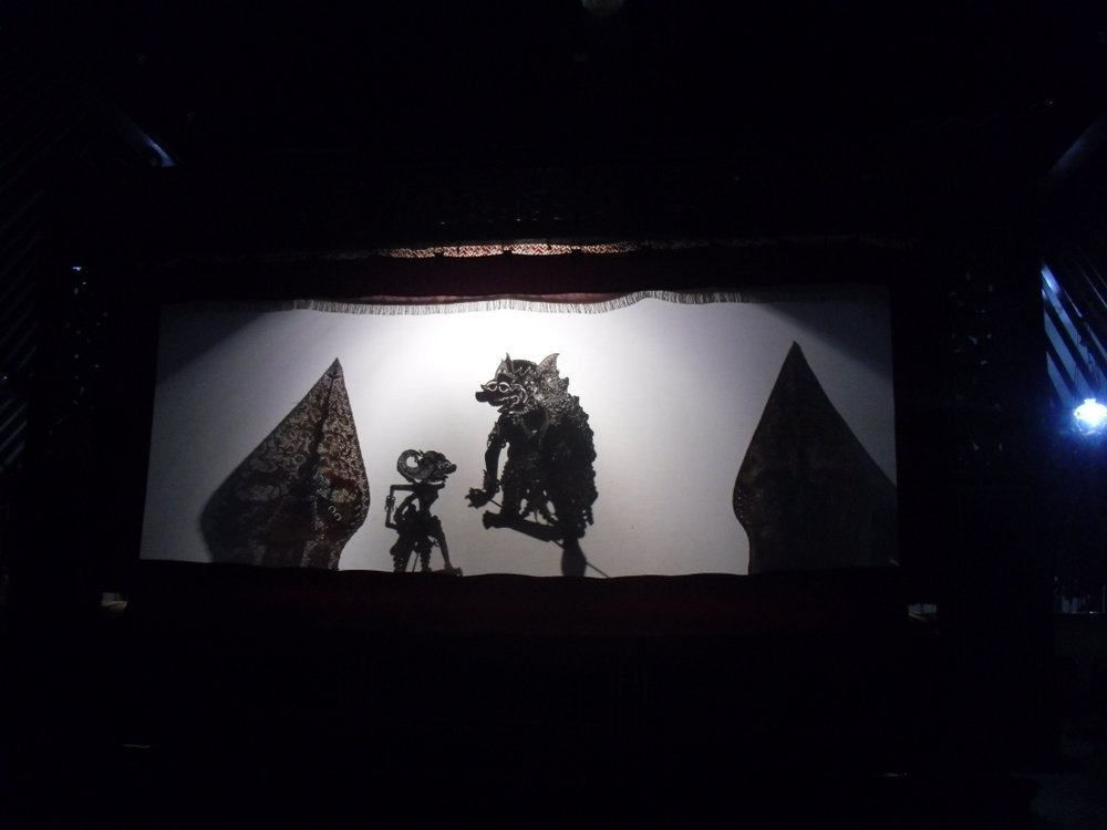 Indonesian shadow puppets