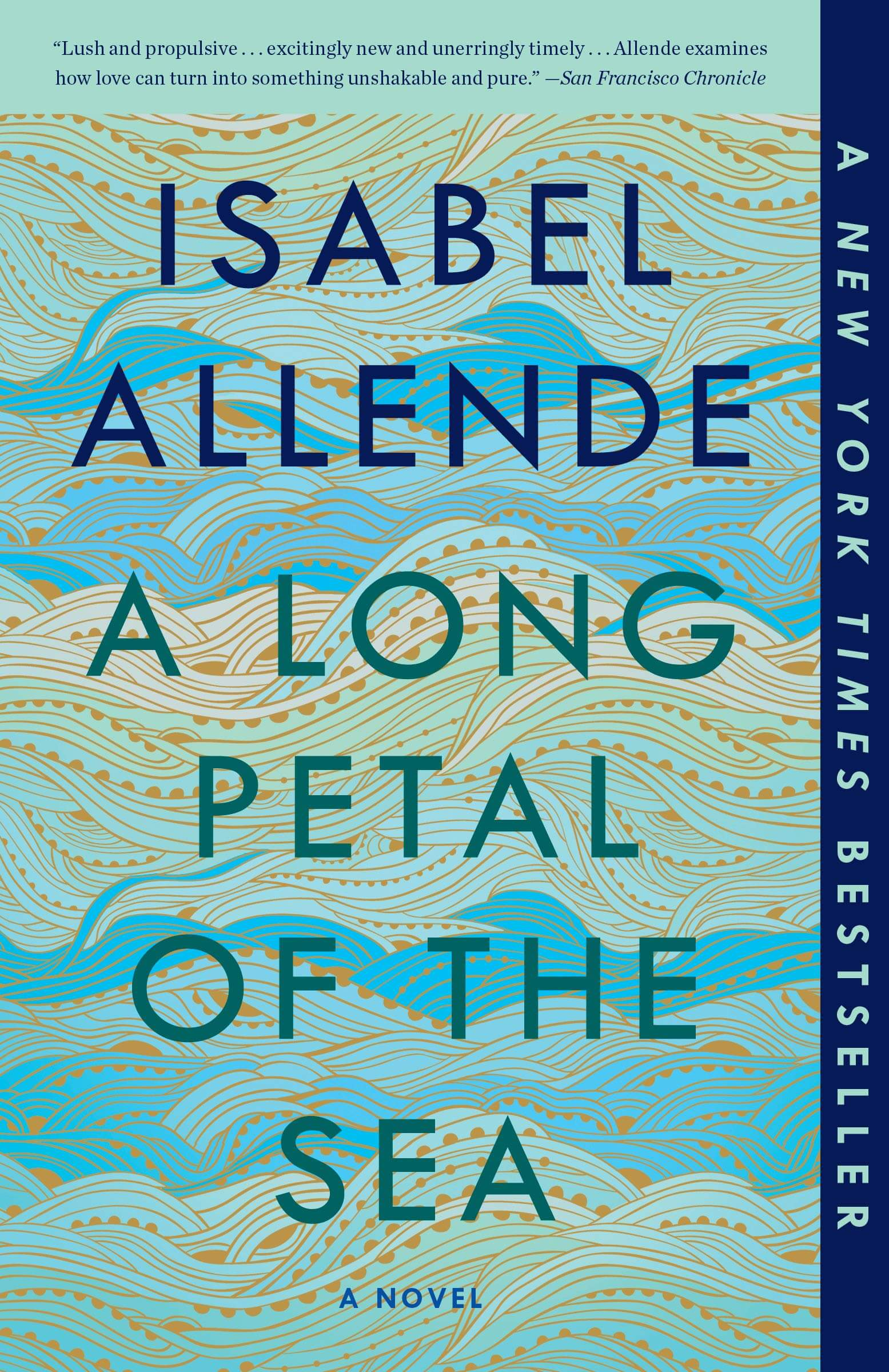 A Long Petal of the Sea, Isabel Allende - favourite travel read of 2020