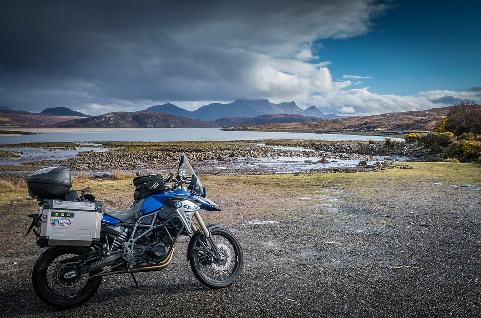 motorcycling Scotland