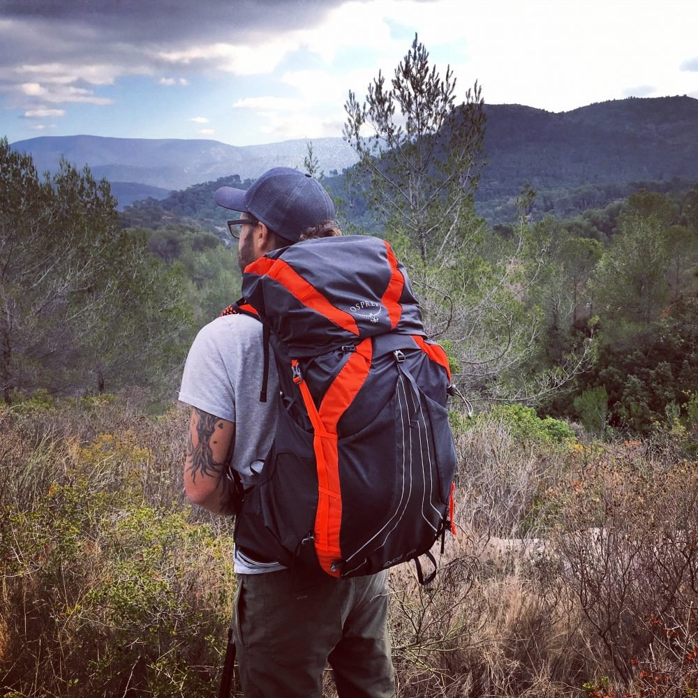 osprey ex's 58 backpack