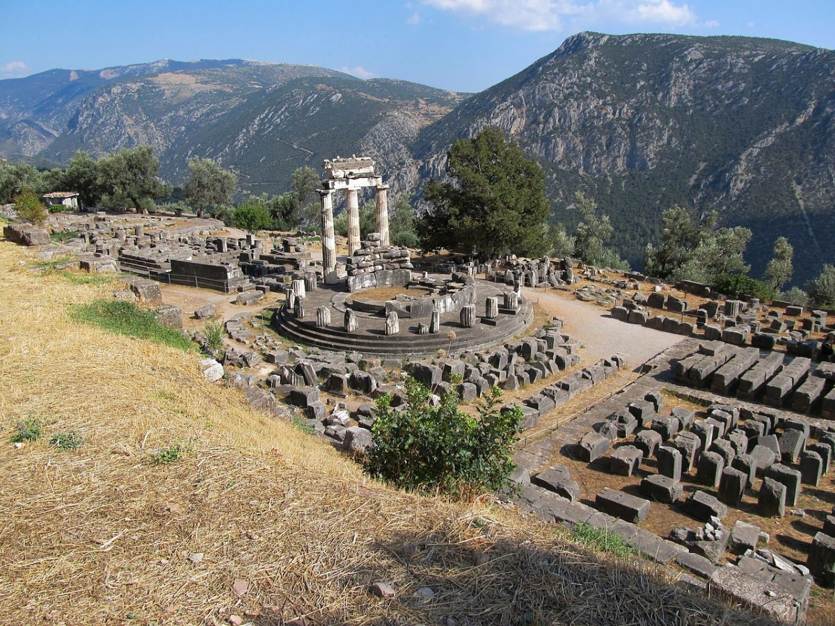 Visiting historical sites at Delphi - top things to do in Greece