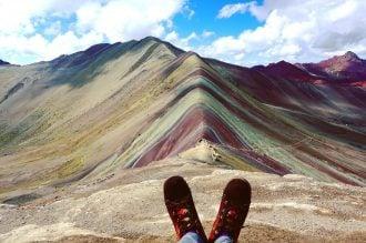 Trekking in Peru's mountains