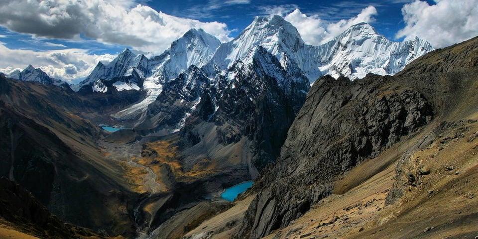 hiking Cordillera Huayhuash in Peru