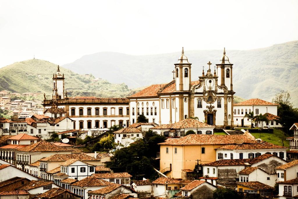 Colonial Ouro Preto in Minas Gerais Brazil