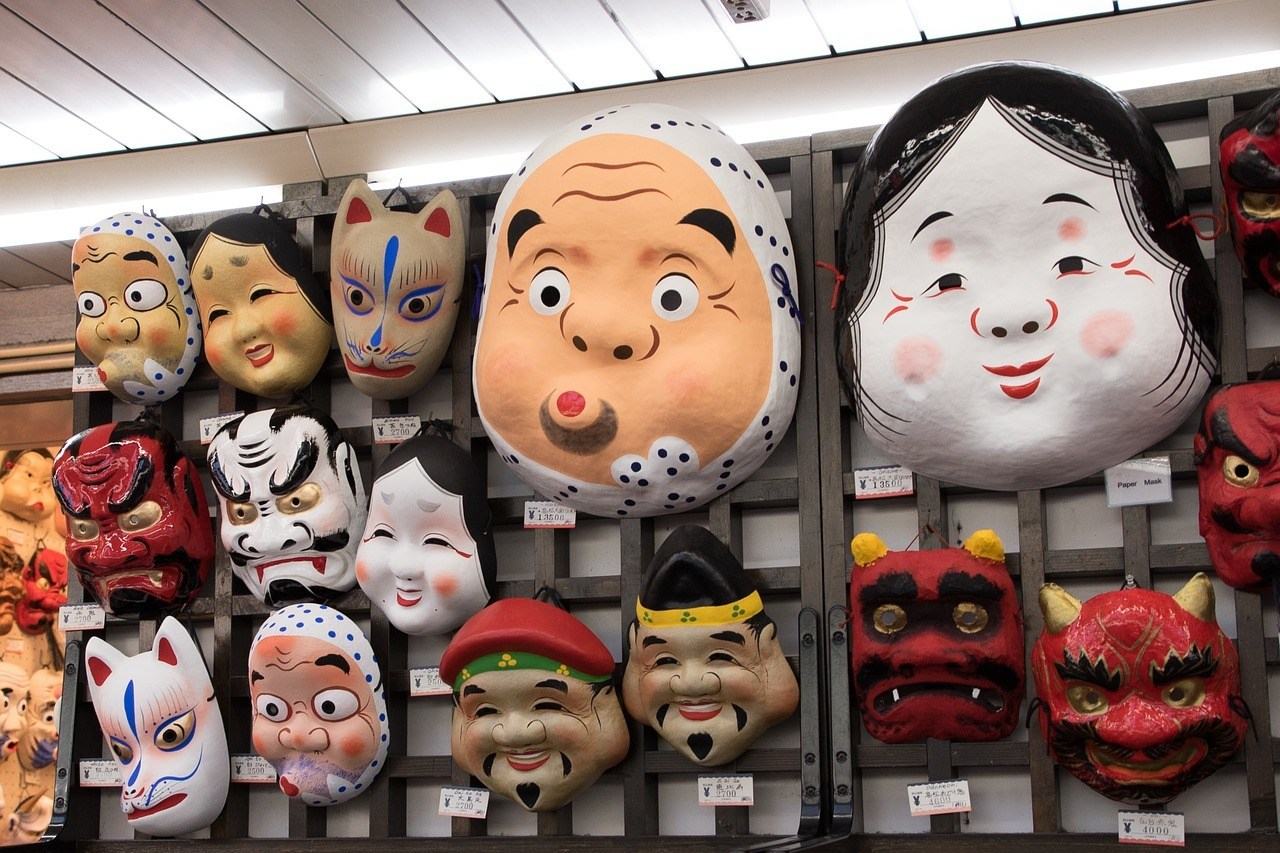 Asakusa mask shop - things to do in Tokyo