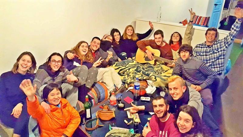Backpackers Grapevine Best Hostel in Marrakech