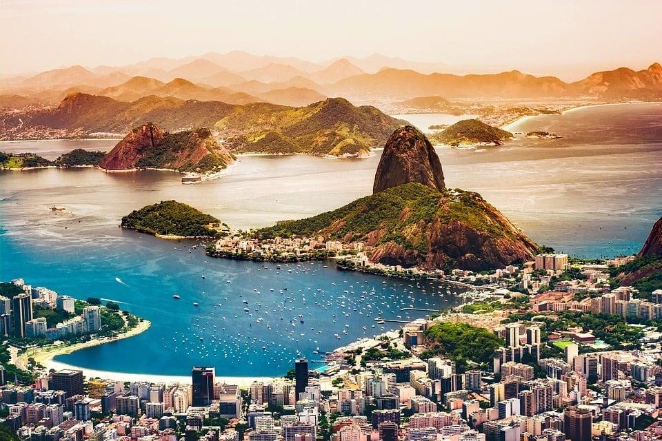 A cidade maravilhosa Rio de Janeiro Brazil