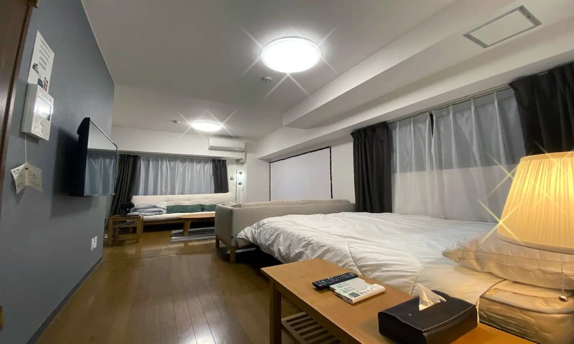 Central Apartment with Projector