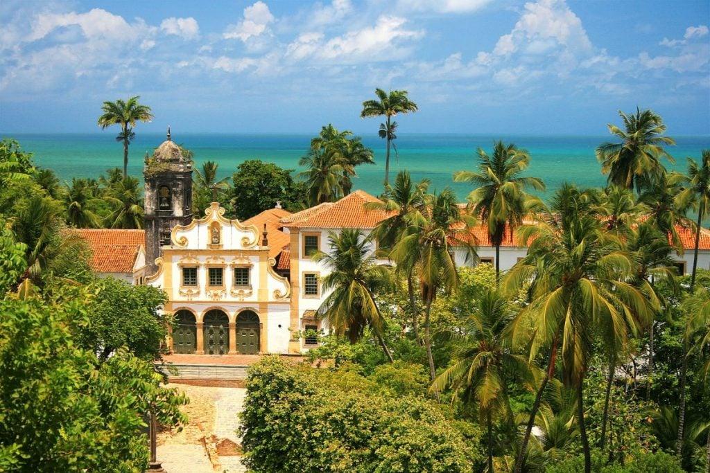 Colonial Olinda in Pernambuco Brazil