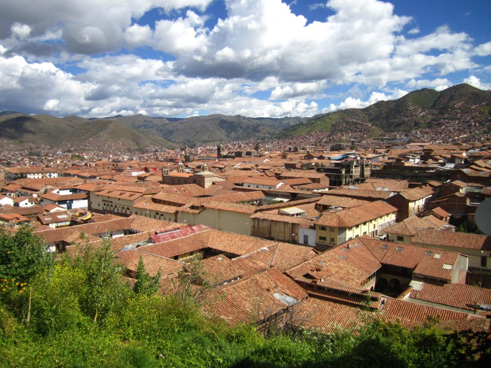 The view of Cusco's architecture