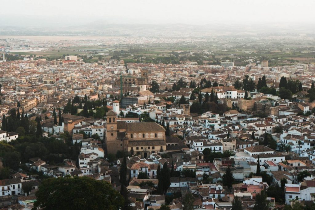 best views in granada spain