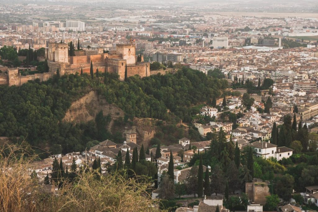 beautiful views granada spain
