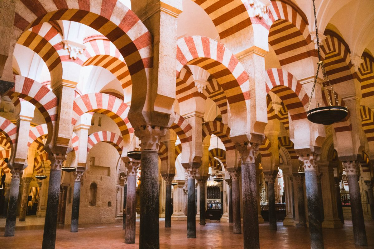 visiting the mesquita in cordoba spain