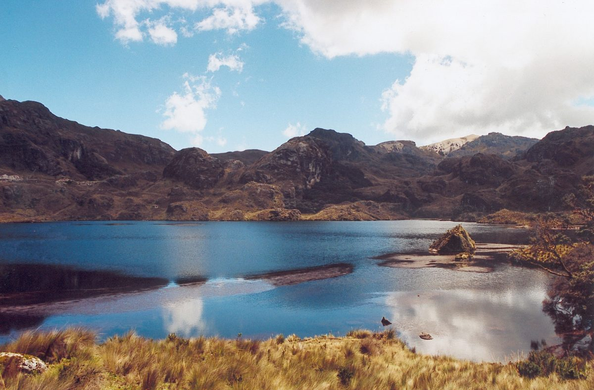hiking in Cajas National Park