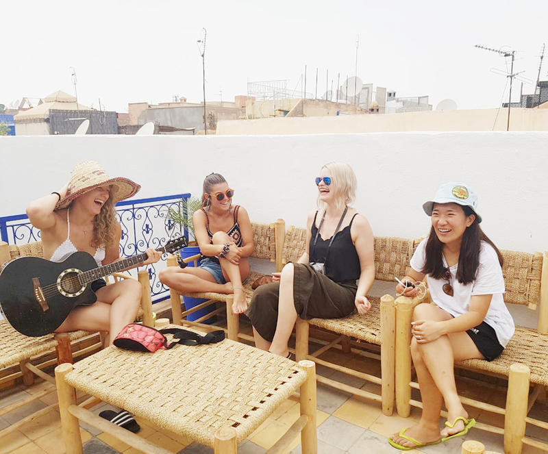 Majorelle Hostel Best Hostels in Marrakech