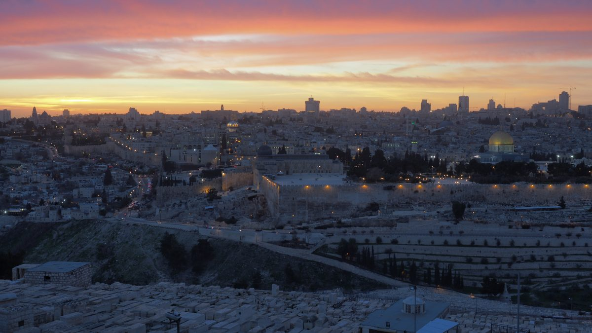 backpacking Israel jerusalem