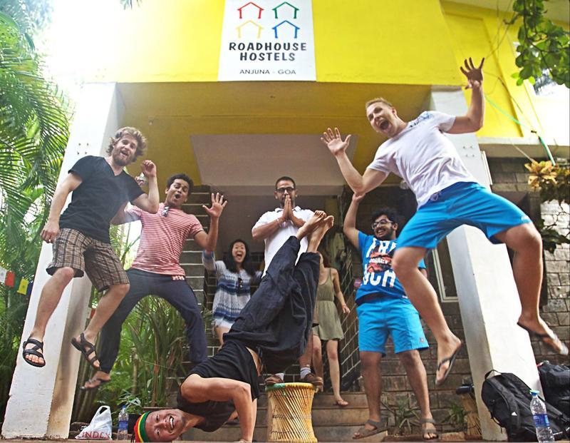 Roadhouse Hostels Anjuna Best Hostels in Goa