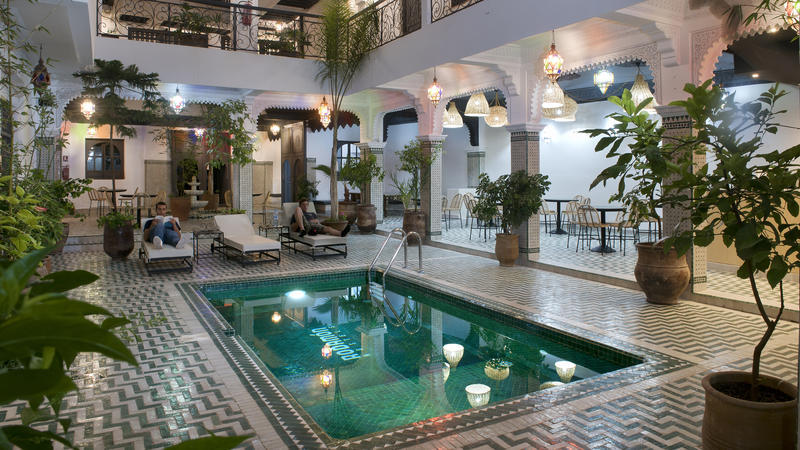 Rodamon Riad Best Hostels for Digital Nomads in Marrakech
