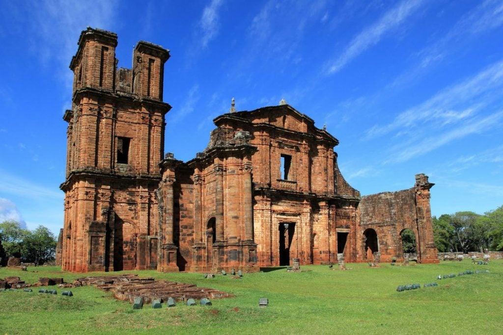 Ruins of São Miguel das Missões in Rio Grande do Sul Brazil