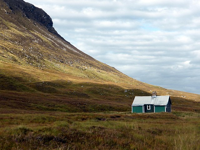 Scotland mountain Bothy