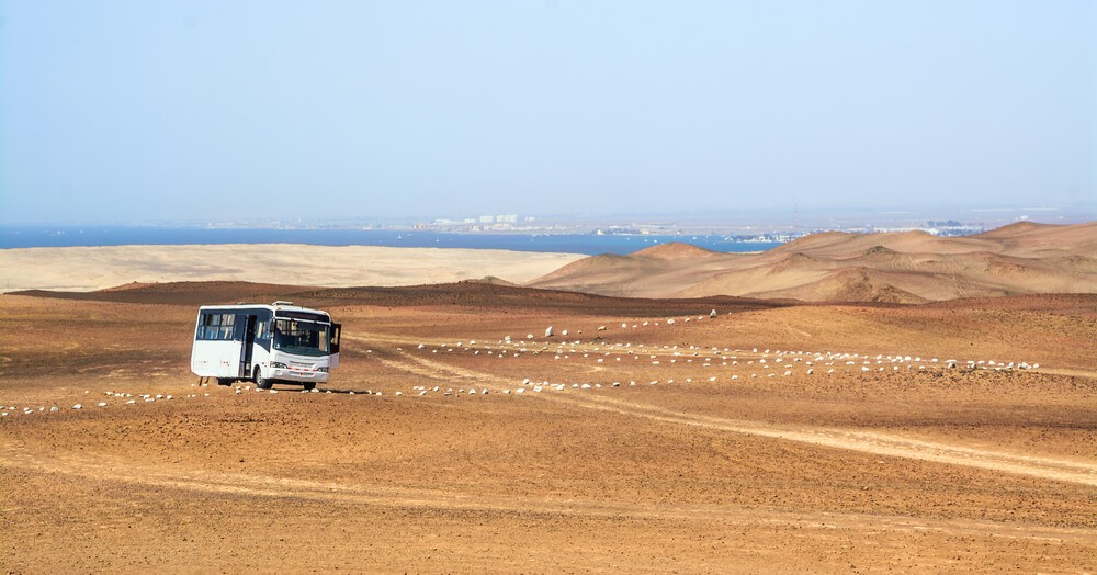 A bus in Peru - the best way to travel