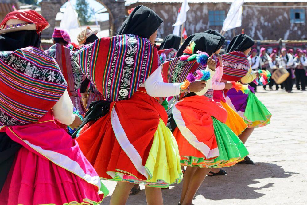 A local party in Peru