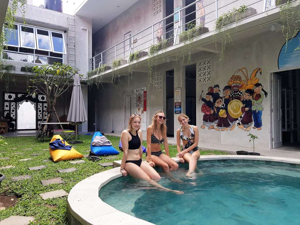 best hostel near the airport in Bali