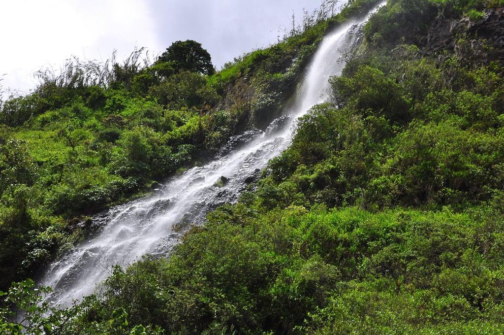 Waterfalls in Banos Ecuador