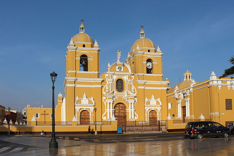The town of Trujillo close to more of Peru's beaches